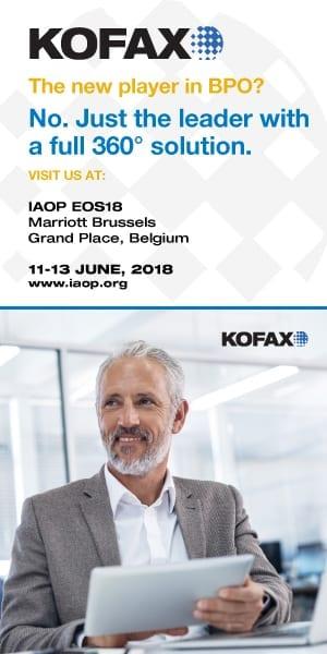 Kofax Ad: IAOP PULSE Outsourcing Magazine